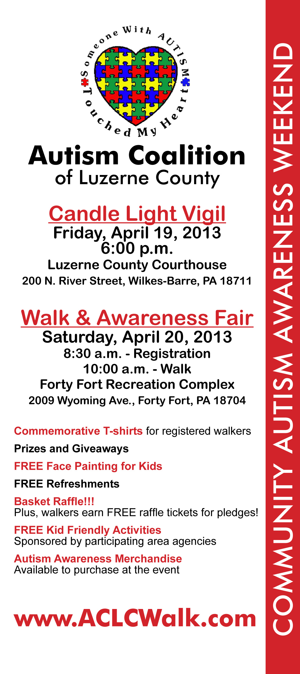 To register for the 2013 ACLC Walk, please print and mail